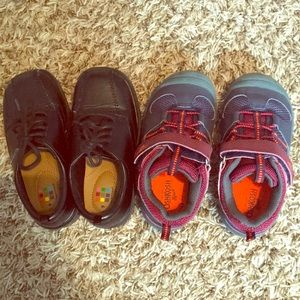 Other - Oshkosh athletic sneakers; black dress shoes